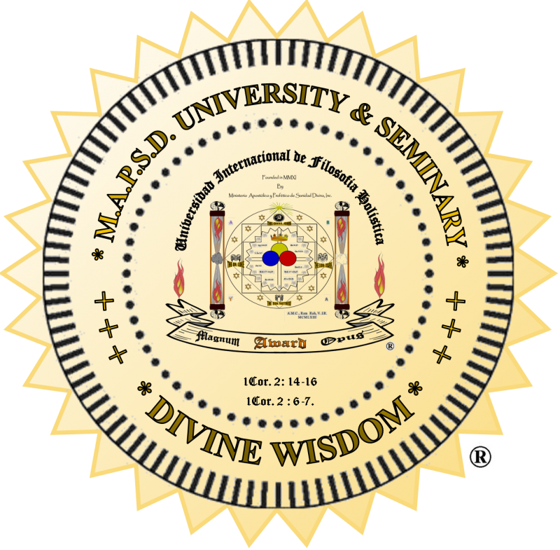 """THE INTERNATIONAL UNIVERSITY OF HOLISTIC PHILOSOPHY"""